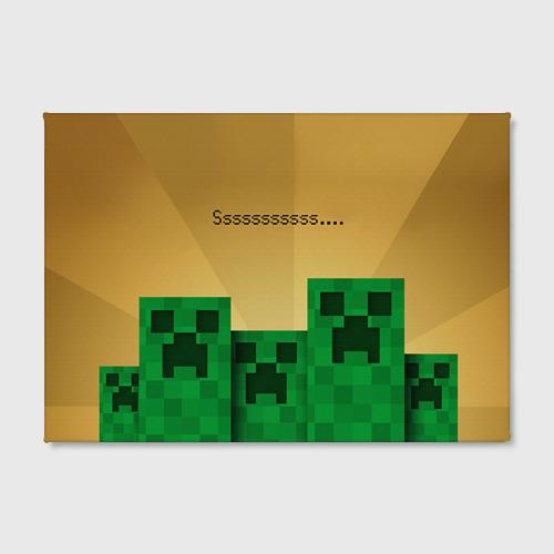 Холст прямоугольный Minecraft Фото 01