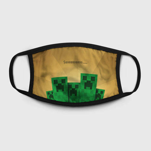 Маска защитная (+5 фильтров) Minecraft Фото 01