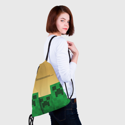 Рюкзак-мешок 3D Minecraft Фото 01