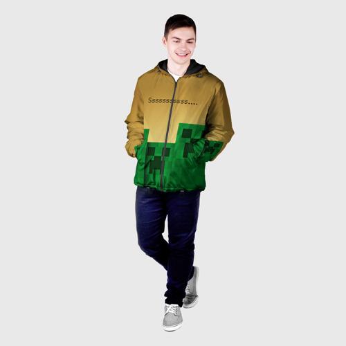 Мужская куртка 3D Minecraft Фото 01