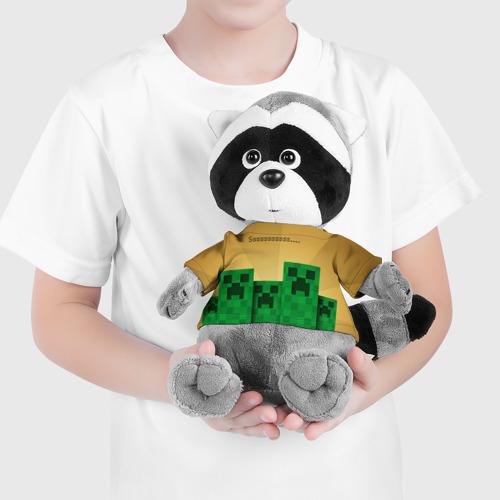 Енотик в футболке 3D Minecraft Фото 01