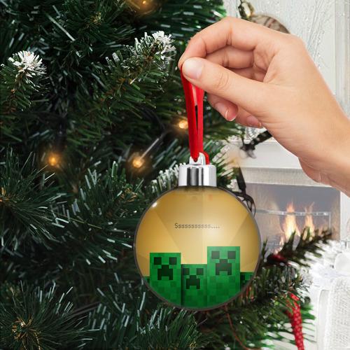 Ёлочный шар Minecraft Фото 01