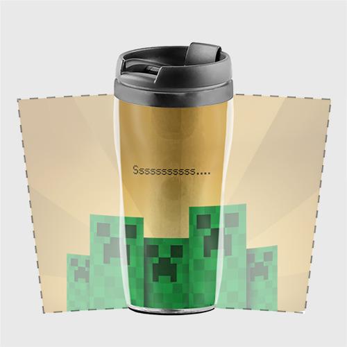 Термокружка-непроливайка Minecraft Фото 01