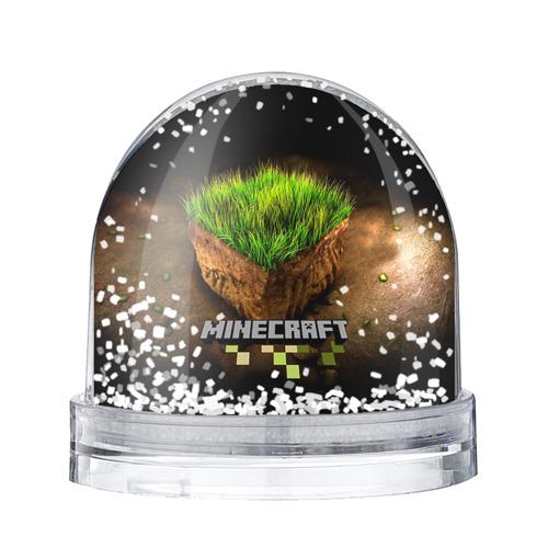 Водяной шар со снегом Minecraft