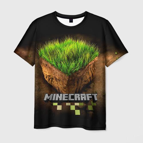 Мужская футболка 3D Minecraft