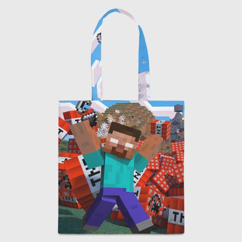 Сумка 3D повседневная Minecraft Фото 01