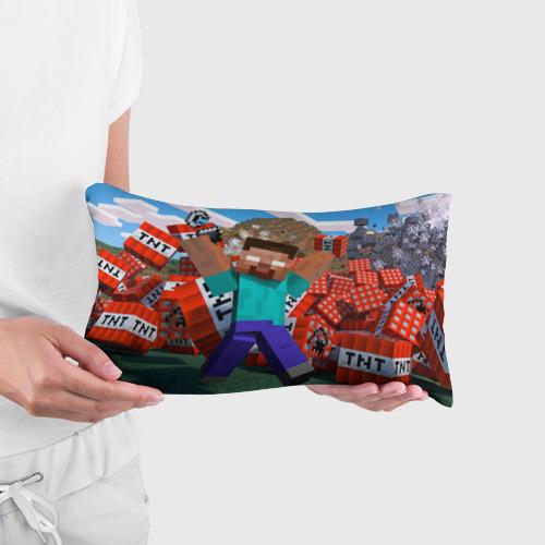 Подушка 3D антистресс Minecraft Фото 01