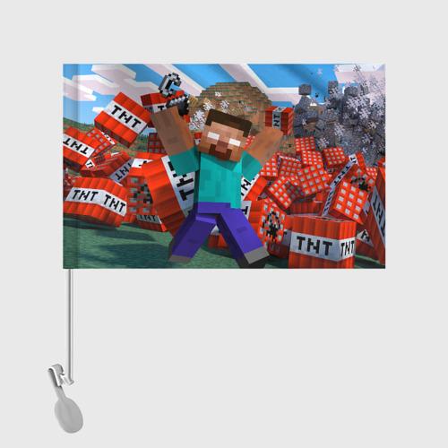 Флаг для автомобиля Minecraft Фото 01