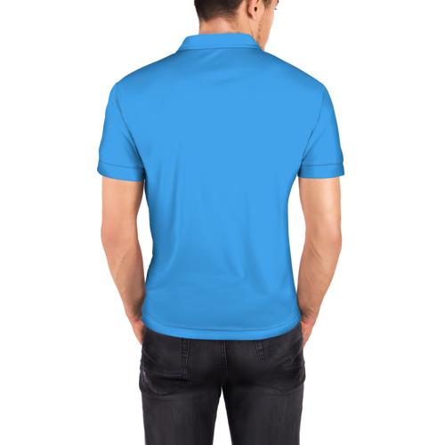 Мужская рубашка поло 3D Minecraft Фото 01