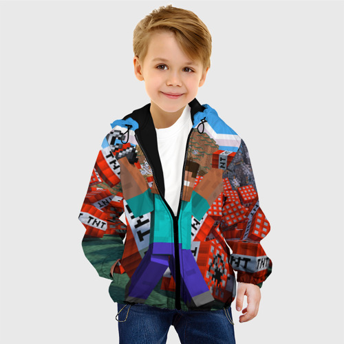 Детская куртка 3D Minecraft Фото 01