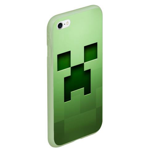 Чехол для iPhone 6/6S матовый Minecraft Фото 01