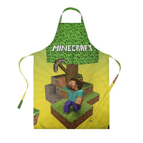 Фартук 3D Minecraft
