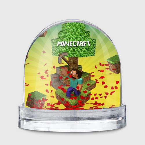 Водяной шар  Фото 01, Minecraft