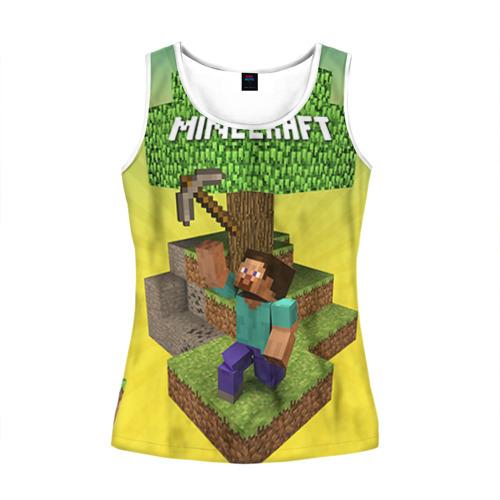 Женская майка 3D  Фото 01, Minecraft