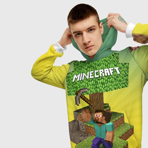 Мужская толстовка 3D Minecraft