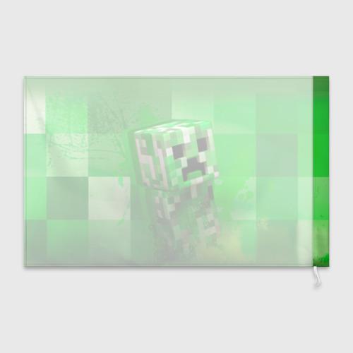 Флаг 3D Minecraft Фото 01