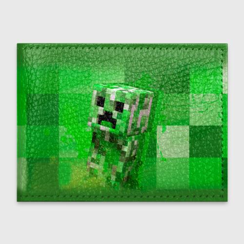 Обложка для студенческого билета Minecraft Фото 01