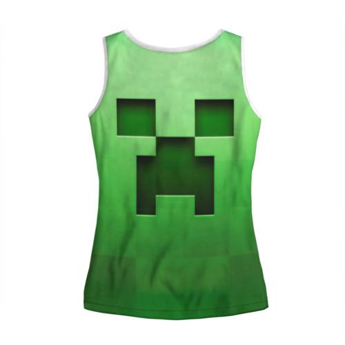 Женская майка 3D  Фото 02, Minecraft