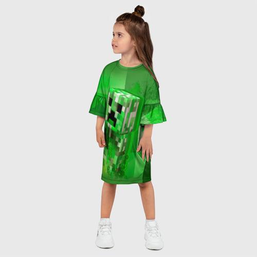 Детское платье 3D Minecraft Фото 01