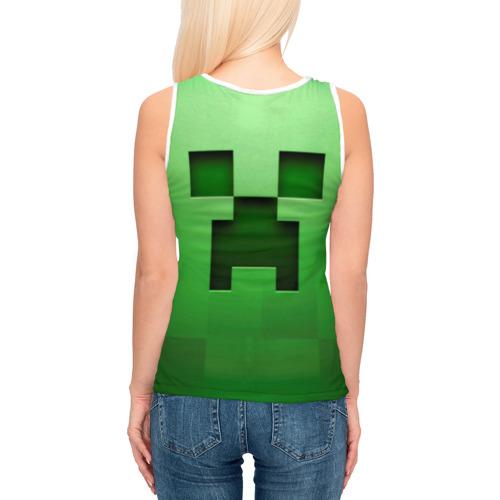Женская майка 3D  Фото 04, Minecraft