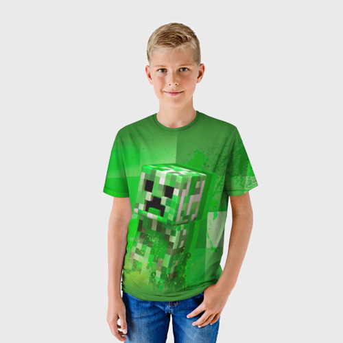 Детская футболка 3D Minecraft