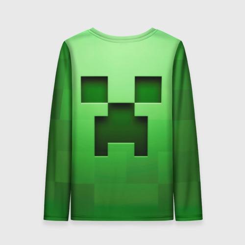 Женский лонгслив 3D Minecraft Фото 01