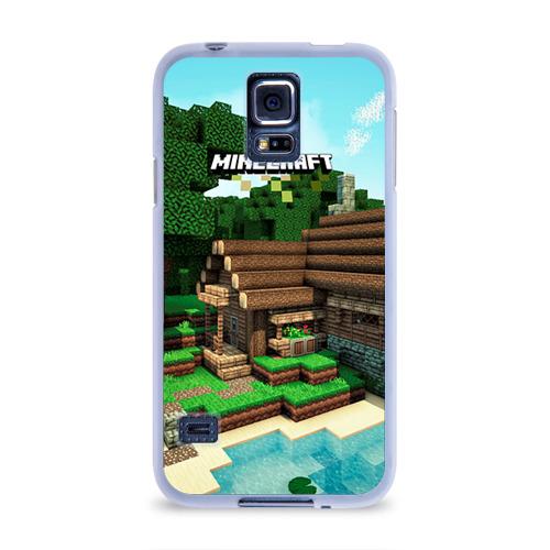 Чехол для Samsung Galaxy S5 силиконовый  Фото 01, Minecraft