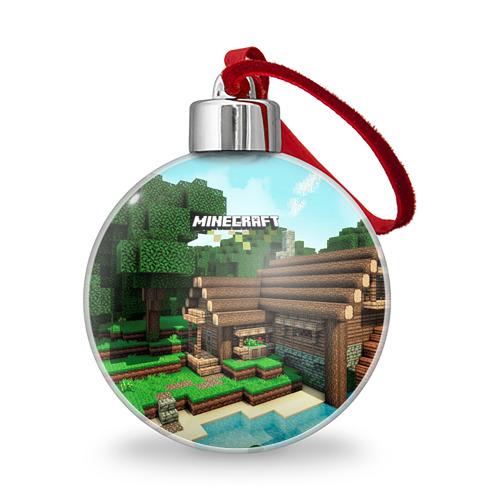 Ёлочный шар  Фото 01, Minecraft