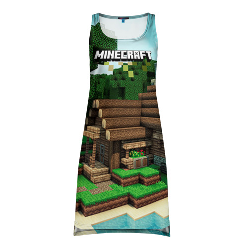 Платье-майка 3D Minecraft