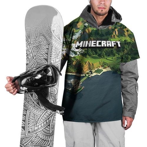 Накидка на куртку 3D  Фото 01, Minecraft