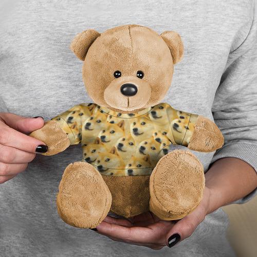 Игрушка Мишка в футболке 3D Doge Фото 01