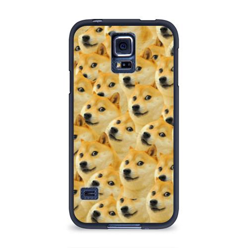 Чехол для Samsung Galaxy S5 силиконовый Doge