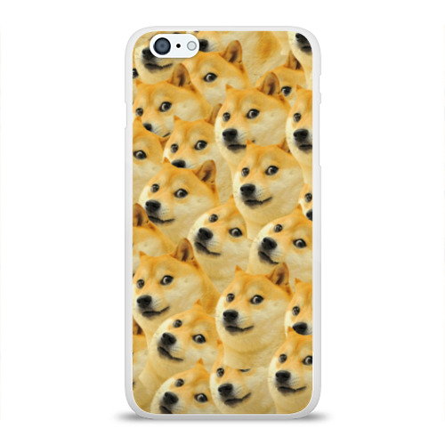 Чехол для Apple iPhone 6Plus/6SPlus силиконовый глянцевый Doge