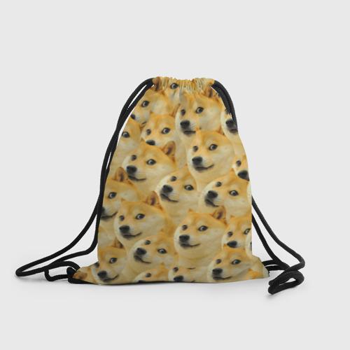 Рюкзак-мешок 3D Doge