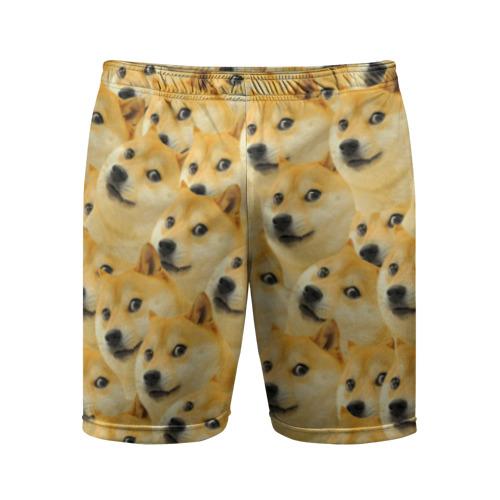 Мужские шорты 3D спортивные Doge