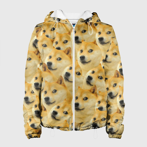 Женская куртка 3D  Фото 01, Doge