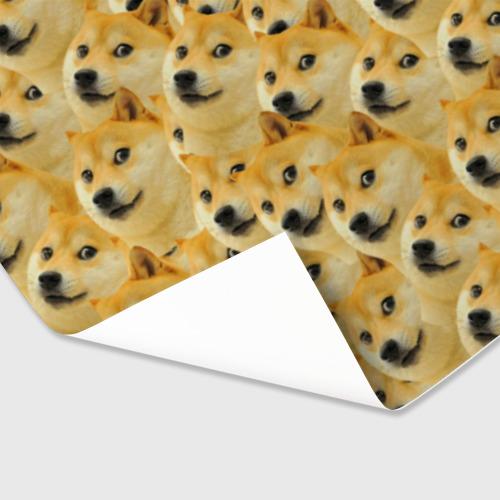Бумага для упаковки 3D Doge Фото 01