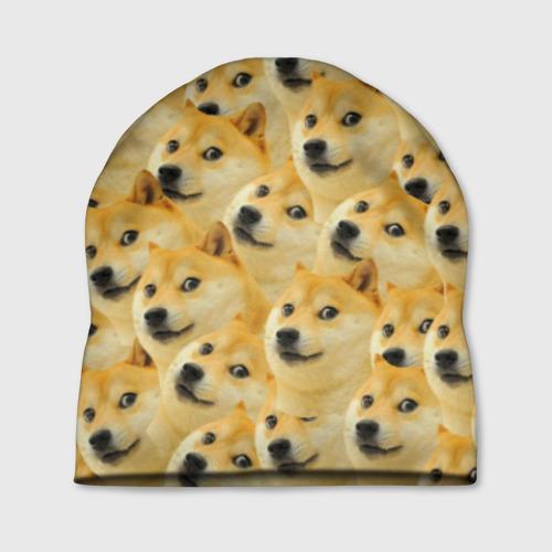 Шапка 3D Doge