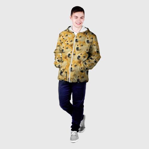 Мужская куртка 3D  Фото 03, Doge