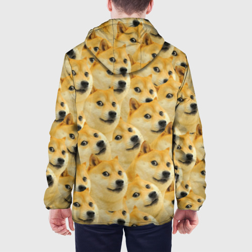 Мужская куртка 3D  Фото 05, Doge