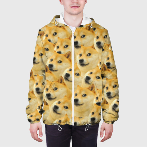Мужская куртка 3D  Фото 04, Doge