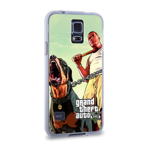 Чехол для Samsung Galaxy S5 силиконовый  Фото 02, GTA