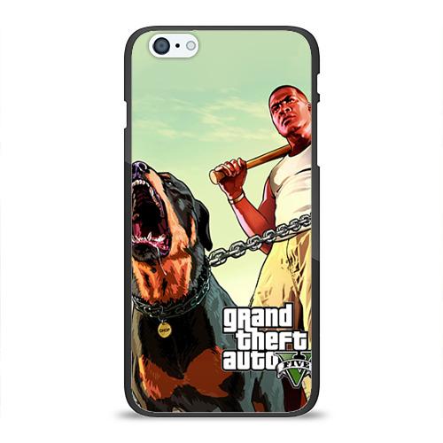 Чехол для Apple iPhone 6Plus/6SPlus силиконовый глянцевый GTA