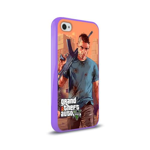 Чехол для Apple iPhone 4/4S силиконовый глянцевый  Фото 02, GTA