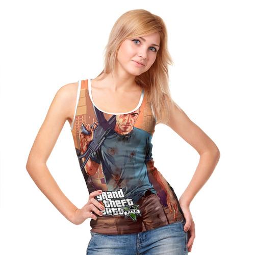 Женская майка 3D  Фото 05, GTA