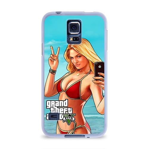 Чехол для Samsung Galaxy S5 силиконовый  Фото 01, GTA