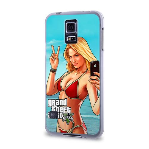 Чехол для Samsung Galaxy S5 силиконовый  Фото 03, GTA