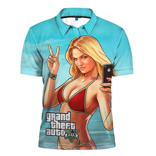 Мужская рубашка поло 3D GTA
