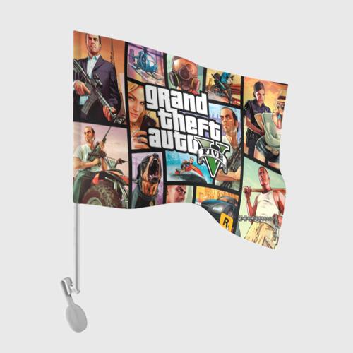 Флаг для автомобиля  Фото 01, GTA
