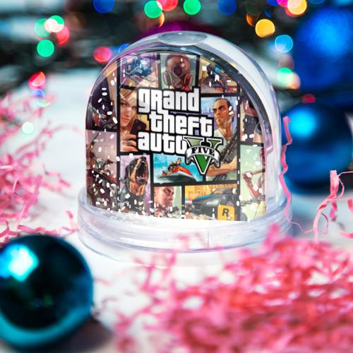 Снежный шар GTA Фото 01